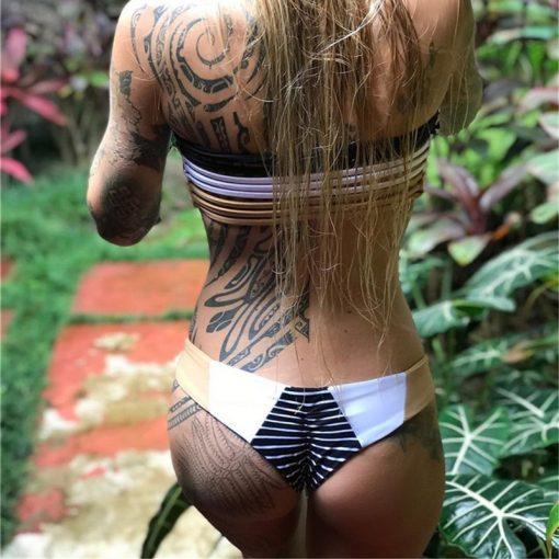 Bikini brazil kopalke z nizkim pasom