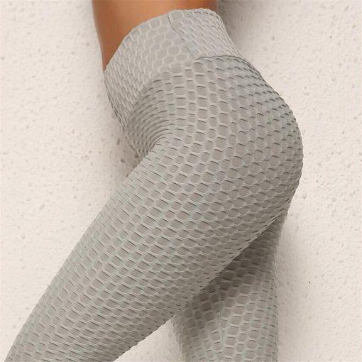 Sive športne Push Up pajkice FitJean