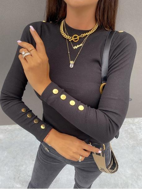 Črna majica Remy